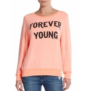 Wildfox Forever Young Baggy Beach Jumper